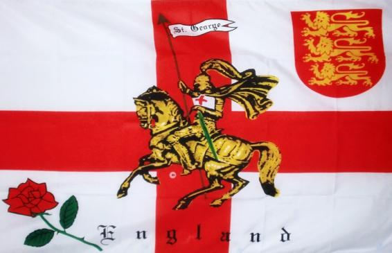 An image of an England flag for St George's Day