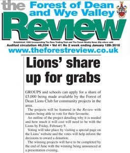 Lions Share up for grabs - Lions launch community projects initiative