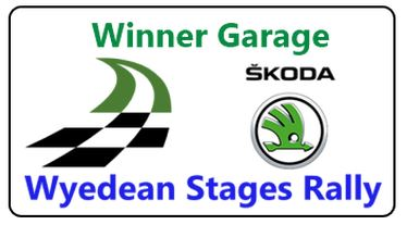 The Wyedean Rally logo