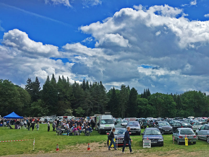 Lions Speech House Car Boot Sale, May 2019