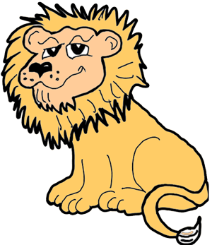 An image for the Lion drawing competition